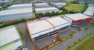 Unit C2, North City Business Park comprises 1,119.24sq m (12,047sq ft) of warehouse and office space.
