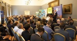 QRE managing director Conor Whelan addressed the Commercial Real Estate    Future Focus seminar