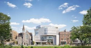 Artist?�s impression of the ?0 million redevelopment of a block in the Ardilaun Centre on St Stephen?�s Green in Dublin