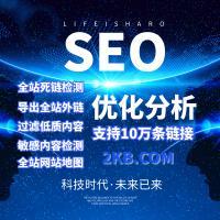 网站SEO优化分析/死链检测/外链检测/Sitemap生成/抓取分析
