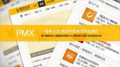 PMX简约黄色phpwind模板下载